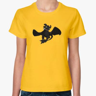 Женская футболка Night Fury