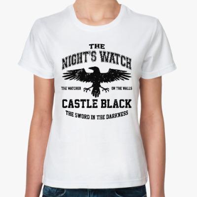 Классическая футболка Игра престолов.Ночной дозор