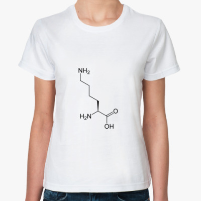 Классическая футболка  Лизин