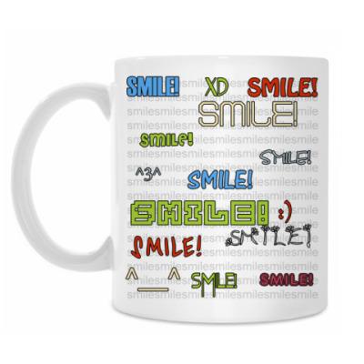 Кружка 'smile:)'