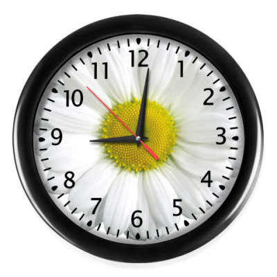 Настенные часы Ромашки