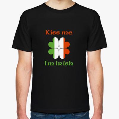 Футболка Kiss me, I'm Irish