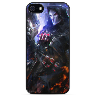 Чехол для iPhone Reaper Overwatch (Жнец)