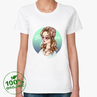 Женская футболка из органик-хлопка Lana