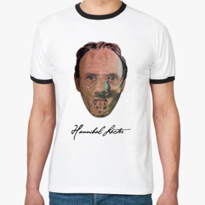 Футболка Ringer-T Hannibal Lecter