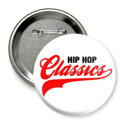 Значок 75мм Hip Hop Classics