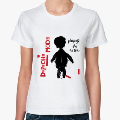 Классическая футболка DM angel
