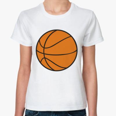 Классическая футболка Баскетбол