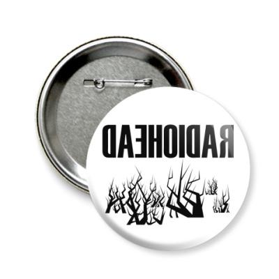 Значок 58мм Radiohead