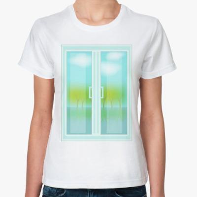 Классическая футболка 'Внутренний мир'