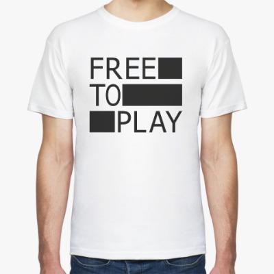 Футболка Free to play