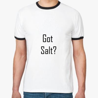 Футболка Ringer-T Got salt?
