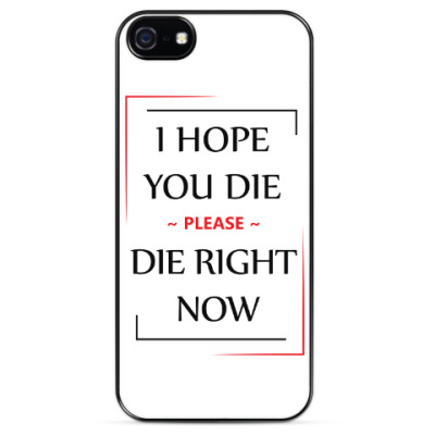 Чехол для iPhone Little Big Hateful Love