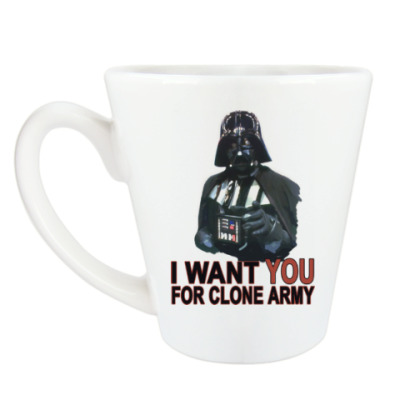 Чашка Латте Star Wars Darth Vader