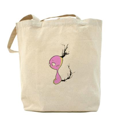 Сумка Холщовая сумка зверушачья