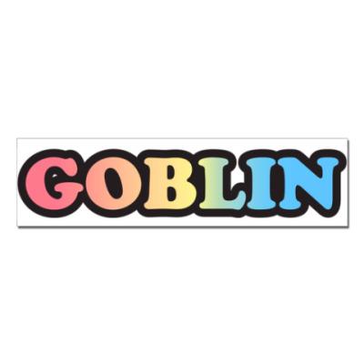 Наклейка (стикер)  GOBLIN
