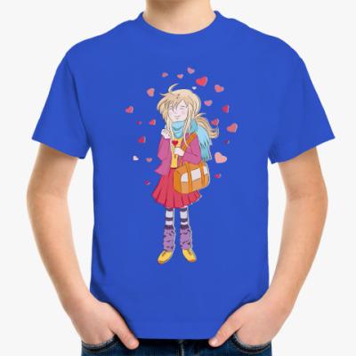 Детская футболка Анимешка про любовь