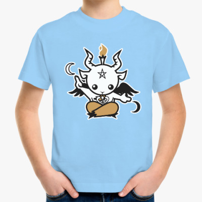 Детская футболка Бафомет