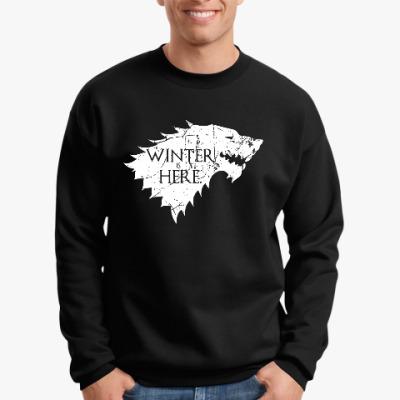 Свитшот Игра престолов. Winter is here