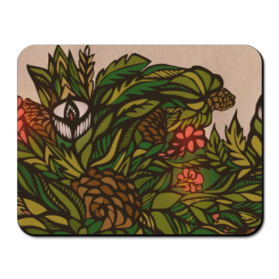 Коврик для мыши Ботаника 1.0