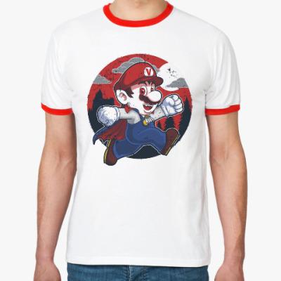 Футболка Ringer-T Супер Марио