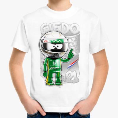 Детская футболка Giedo № 21
