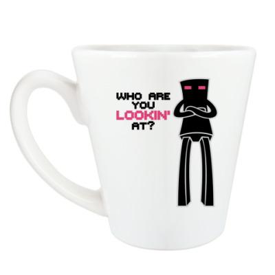 Чашка Латте Enderman