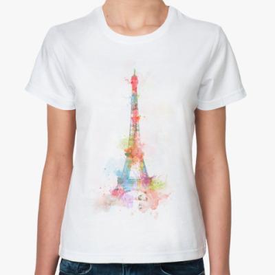 Классическая футболка  футболка Paris