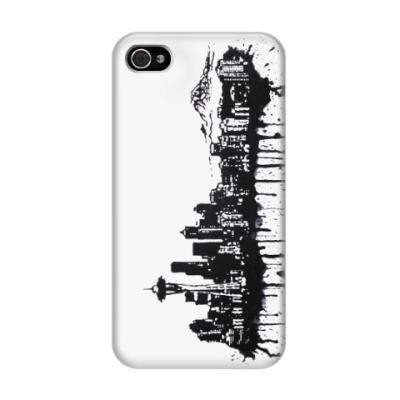 Чехол для iPhone 4/4s Seattle