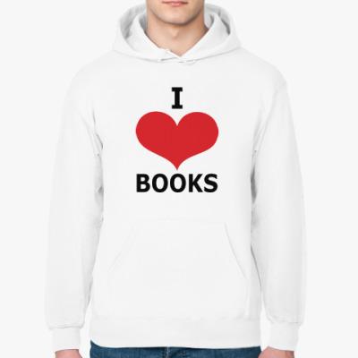 Толстовка худи I Love Books