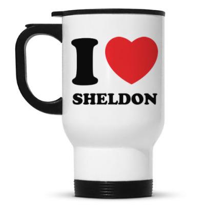 Кружка-термос I Love Sheldon