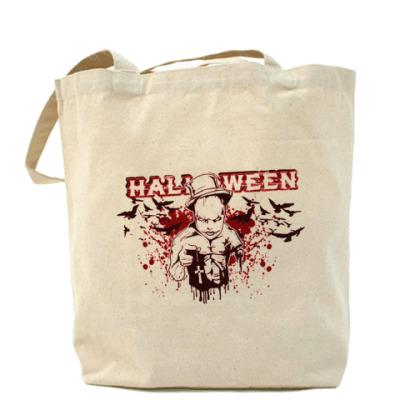 Сумка Bloody Halloween Холщ сумка