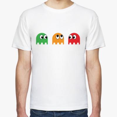 Футболка  Pacman