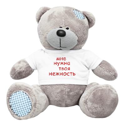 Плюшевый мишка Тедди нежность