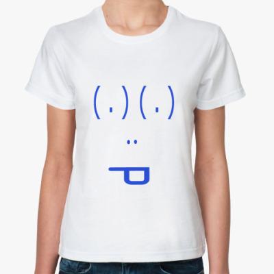 Классическая футболка Смайл из знаков