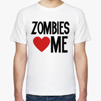 Футболка Зомби, Zombie