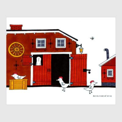 Постер Swedish house