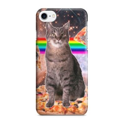 Чехол для iPhone 7/8 Космический кот