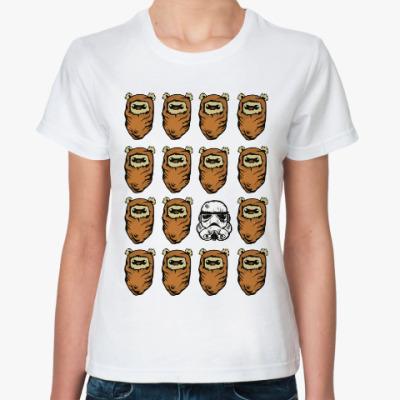Классическая футболка Эвоки и Штурмовик
