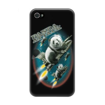 Чехол для iPhone 4/4s Панды атакуют