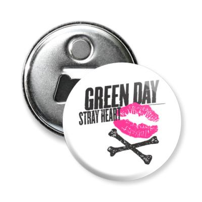 Магнит-открывашка Green Day