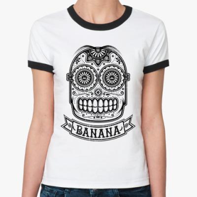Женская футболка Ringer-T Banana