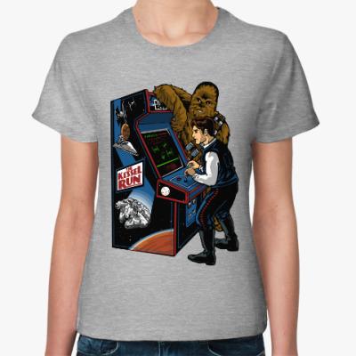 Женская футболка Хан Соло и Чубакка (Star Wars)