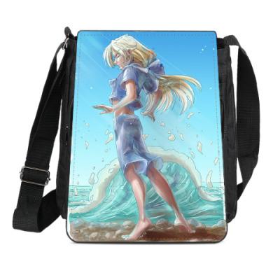 Сумка-планшет Слушая море