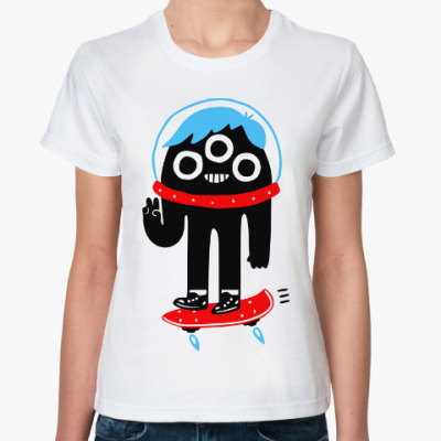 Классическая футболка Космонавт