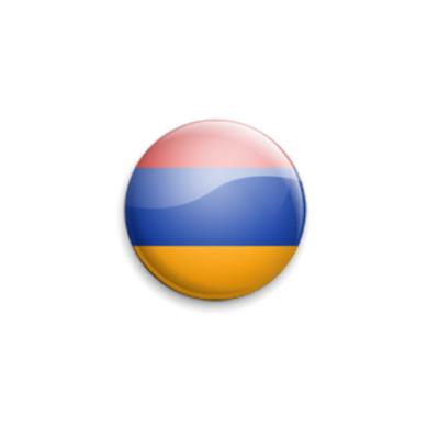 Значок 25мм Armenia