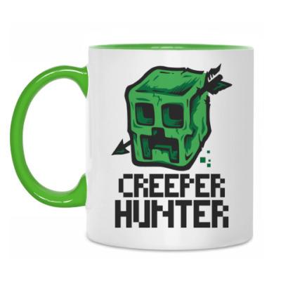 Кружка Creeper hunter