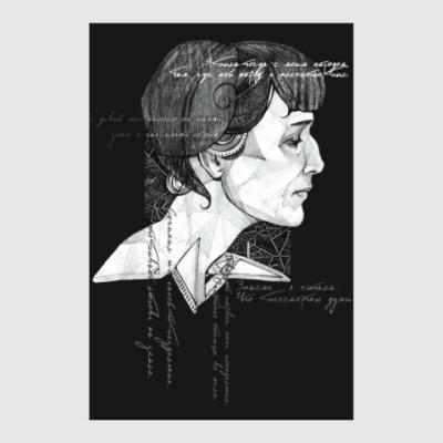 Постер Анна Ахматова