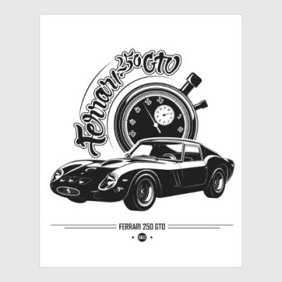 Постер Ferrari 250 GTO
