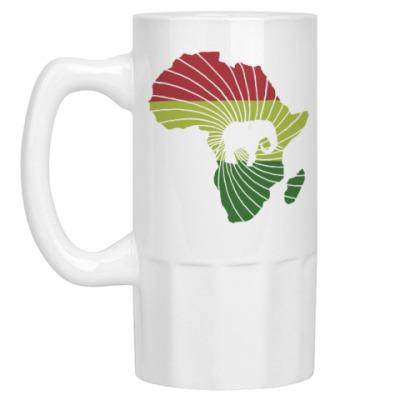 Пивная кружка Африканский слон